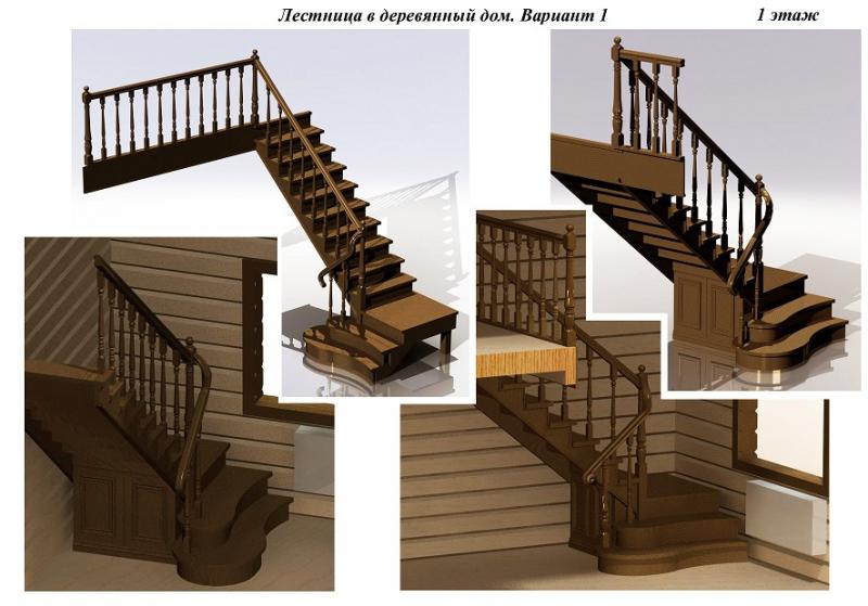 Проекты домов фото лестница